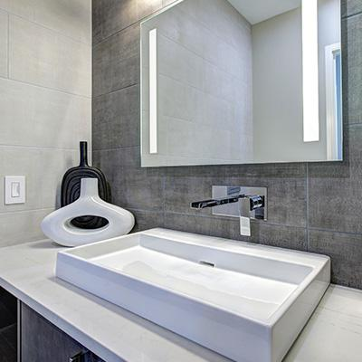 Aménagment de salle de bain à Elbeuf