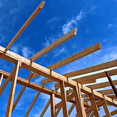 Extension avec ossature bois à Elbeuf